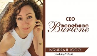 """Inquadra """"CEO Cristina Burlone"""" con l'app Vizual"""