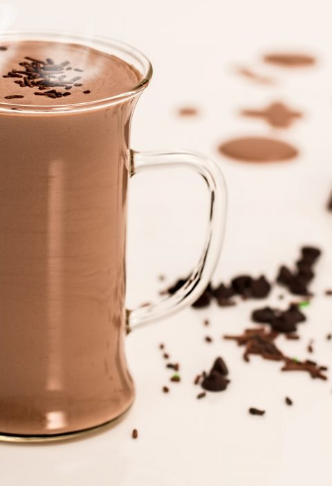 hot chocolate conforting drink