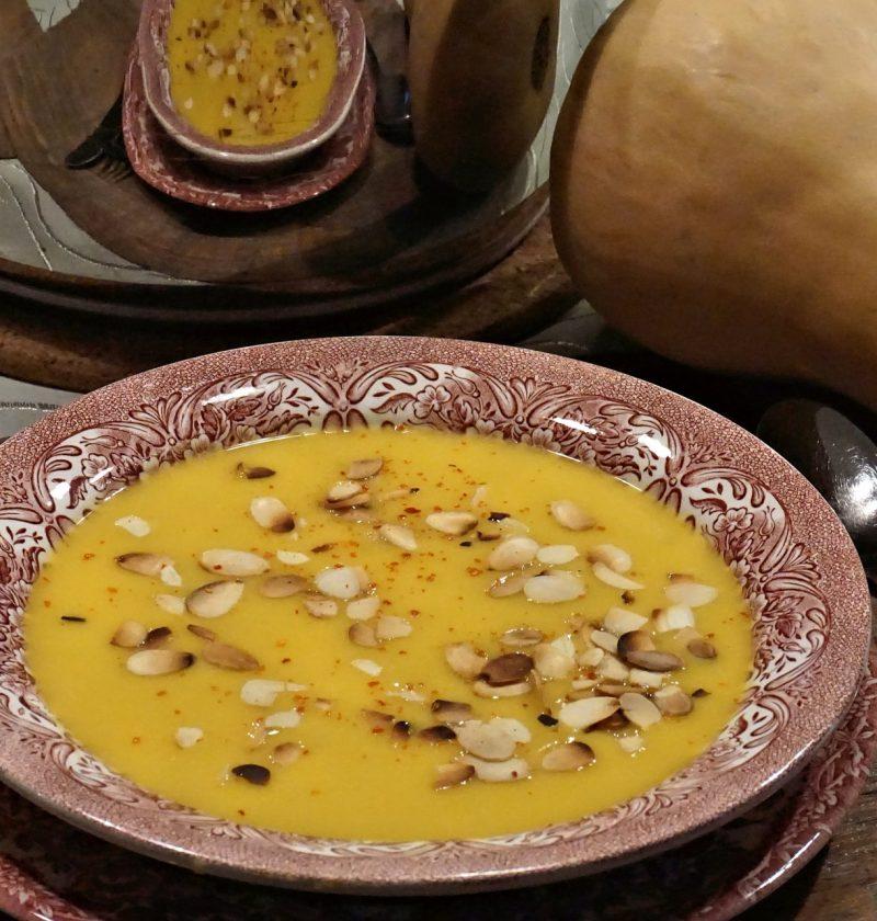 butternut soup rcipe