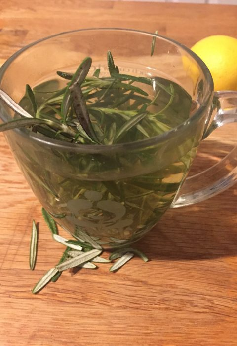 rosemary tea homemade recipe