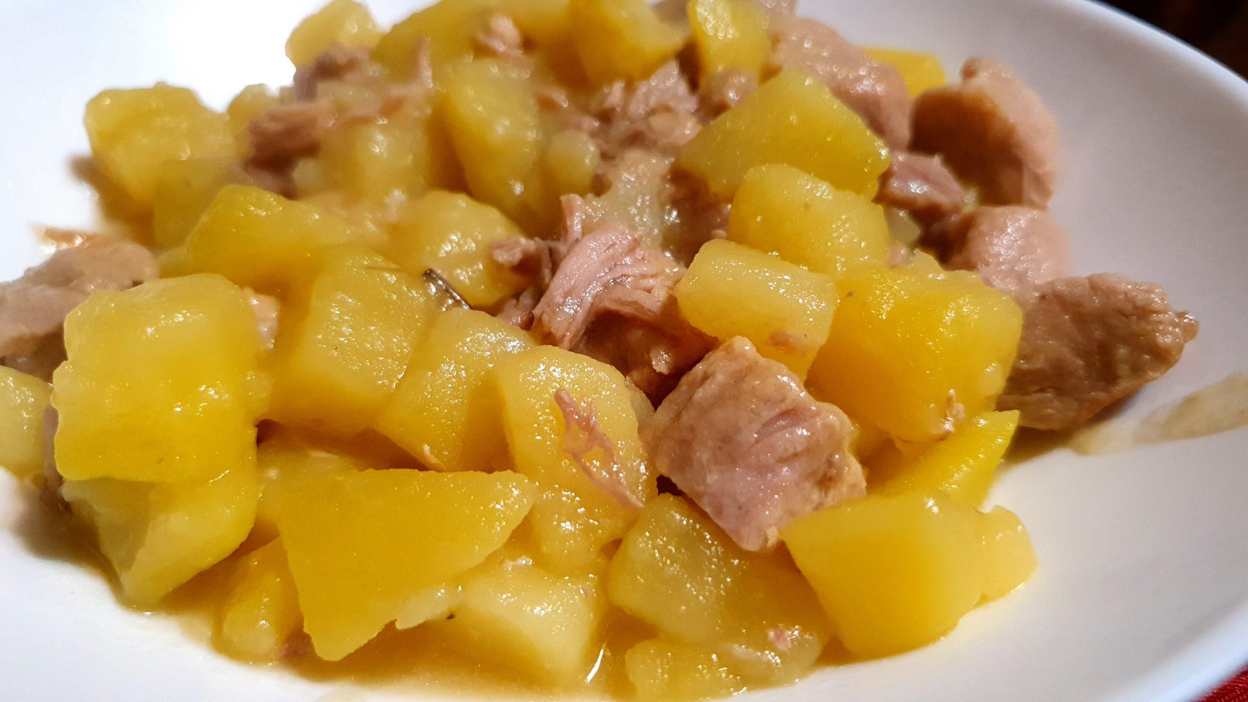 turkey and potatoes stew recipe