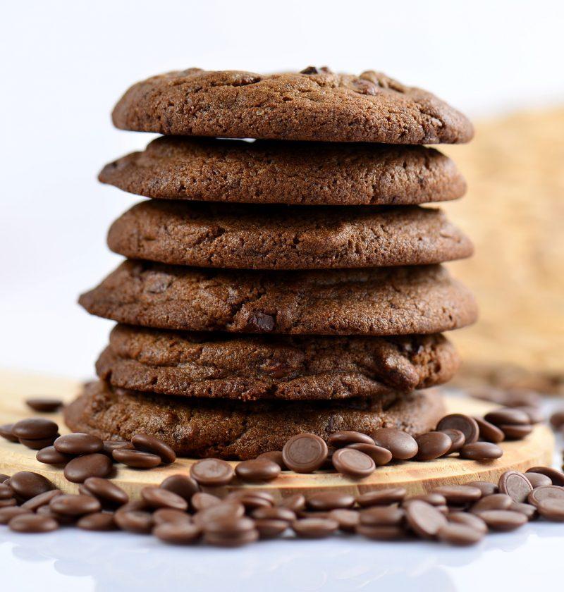 stack chocolate cookies recipe