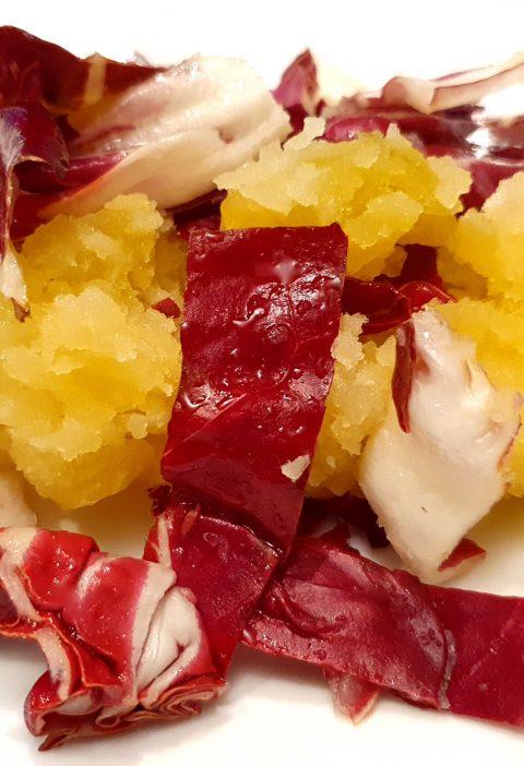 warm potatoes red salad recipe
