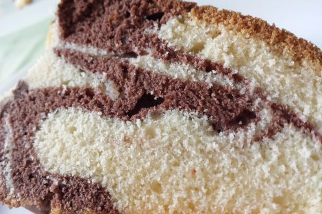 rhum achocolate marble cake recipe
